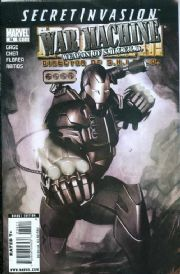 Iron Man Director Of SHIELD #34 (2008) Secret Invasion War Machine Marvel comic book